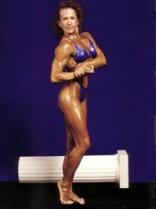 Jody Goldenfield - Body Building Competitor in her late 30's
