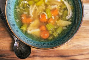 Soup heals & soothes, and it's not just the chicken.