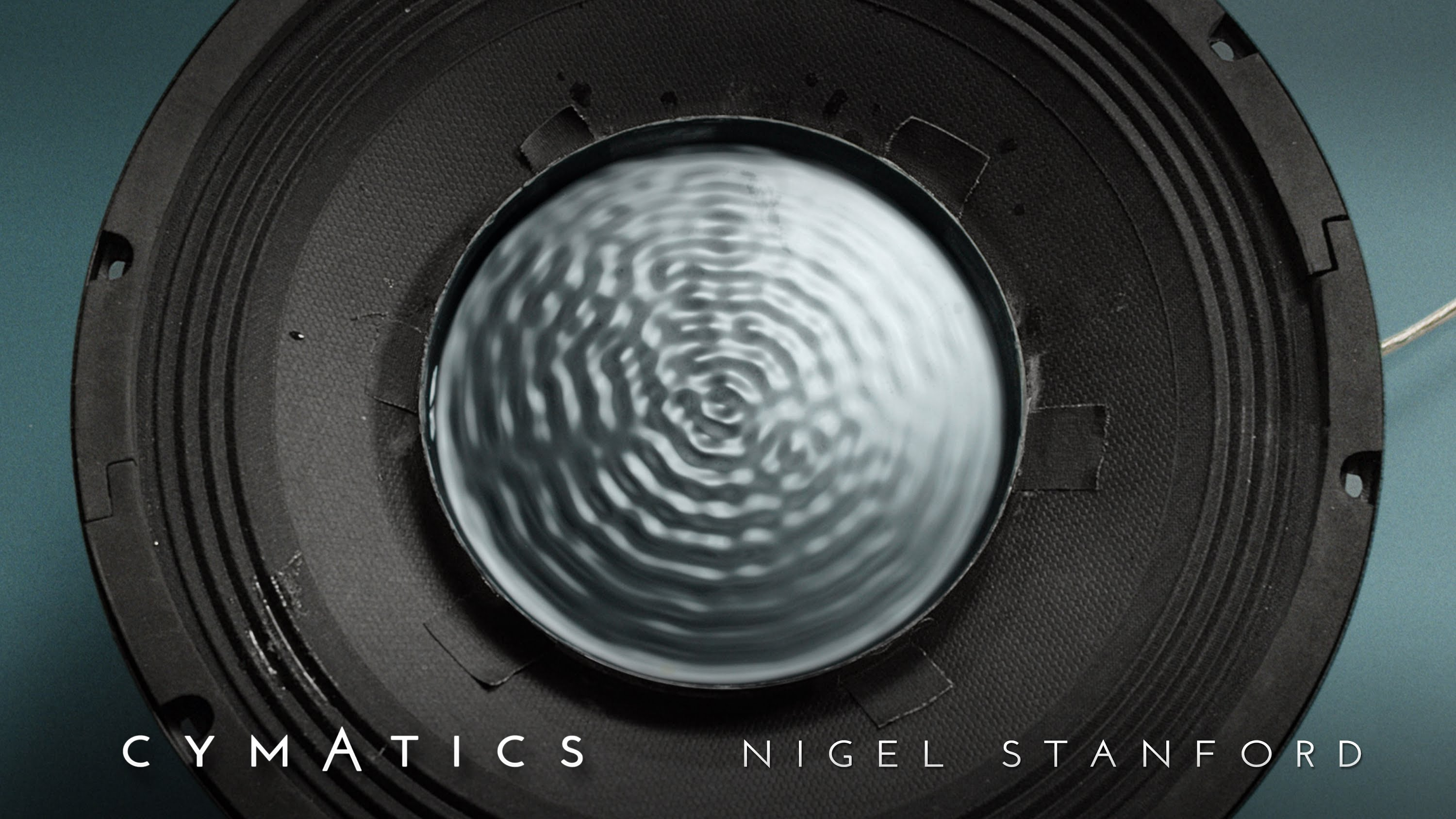 Cymatics, Nigel Stanford, Soundwaves, Sound visualized,