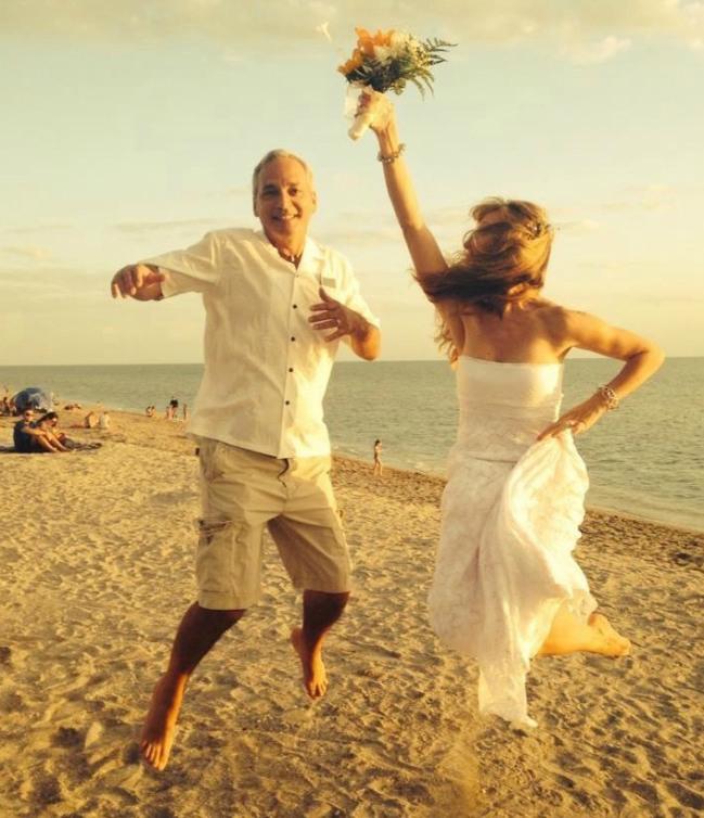 Lorraine remarries at age 45 to Phillipe Diedrich, Lorraine Ladish, VivaFifty!, LeAura Alderson Baby Boomers, Latina Women Over 50, Phillipe Diederich, Sofrito,