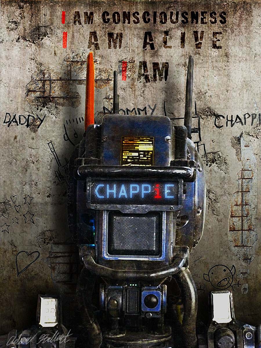 chappie, transcendence, lucy, artificial intelligence, consciousness, movies, movie recommendations, movie reviews, boomers reinvented, devani anjali alderson