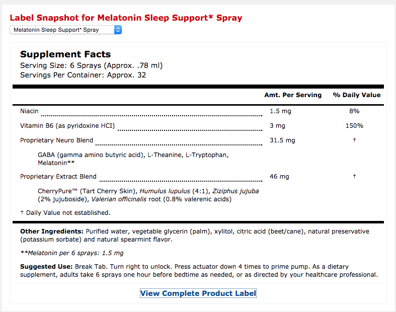 SleepSupport_Melatonin_Mercola